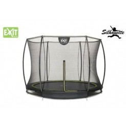 EXIT Silhouette 8 Ground Trampoline met Safetynet 244cm (8ft)