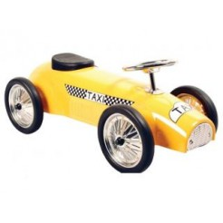 Taxi Metal Classic Ride On Racer Loopauto