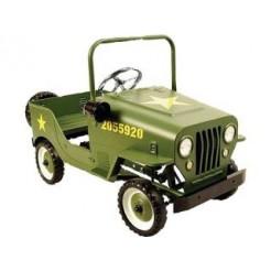 Leger Jeep 9601 Metalen Trapauto