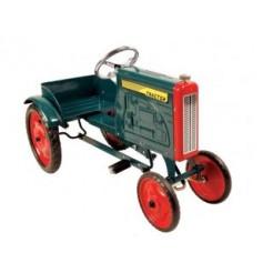 Tractor Metalen Trapauto Groen