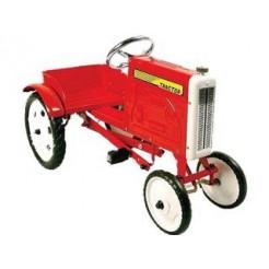 Tractor Metalen Trapauto  Rood