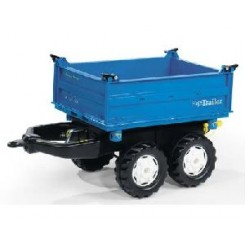 Rolly Toys 121106 RollyMega Trailer Blauw