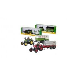 Agri Life 1:27 Tractor + Aanhanger Assorti