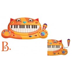 B.Toys B71025 Meouwsic Keyboard met Opname Functie