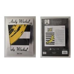 Andy Warhol Banaan Streep 1-Persoons Dekbedovertrek