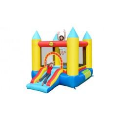 Castle Bouncer Springkasteel met Glijbaan