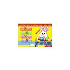 Paas Kleur- en Spelletjesboek met Stickers