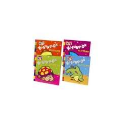 Kleurboek Met Glitters Assorti