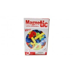 Magnetische Letters + Nummers 80-delig