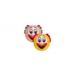 Lampion Bol Clown 22 cm Assorti