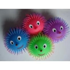 Bushy Puffer Ball 15 cm + Licht Assorti