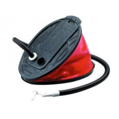 Voetpomp 5L Zwart/Rood