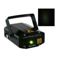 BeamZ Apollo Sterrenhemel Multipoint Laser Rood/Groen