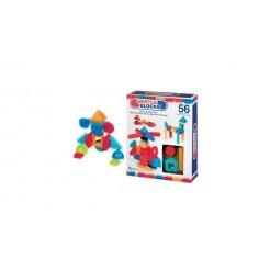 Bristle Blocks Box met 56 Stuks