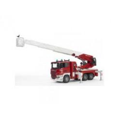 Bruder Brandweer Scania Op Batterijen