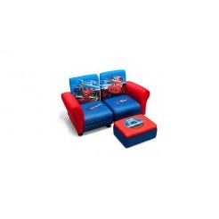 Cars TC85671CR Deelbare Kinder Sofa met Opbergruimte