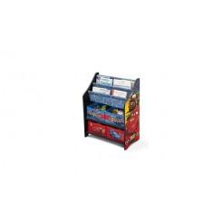 Cars TB83241CR Houten Speelgoed + Boeken Opbergkast
