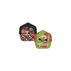 Baseball Cap Cars 2 Maat 52/54 Assorti
