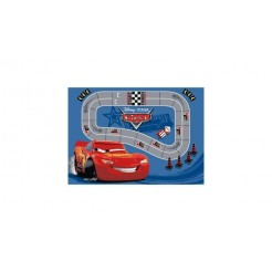 Cars Race Speelkleed 95x133cm