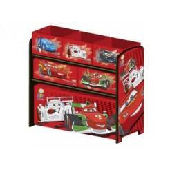 Cars TB84714CR Houten Speelgoed Opbergkast