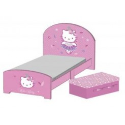 Hello Kitty BB87179HK Houten Peuterbed