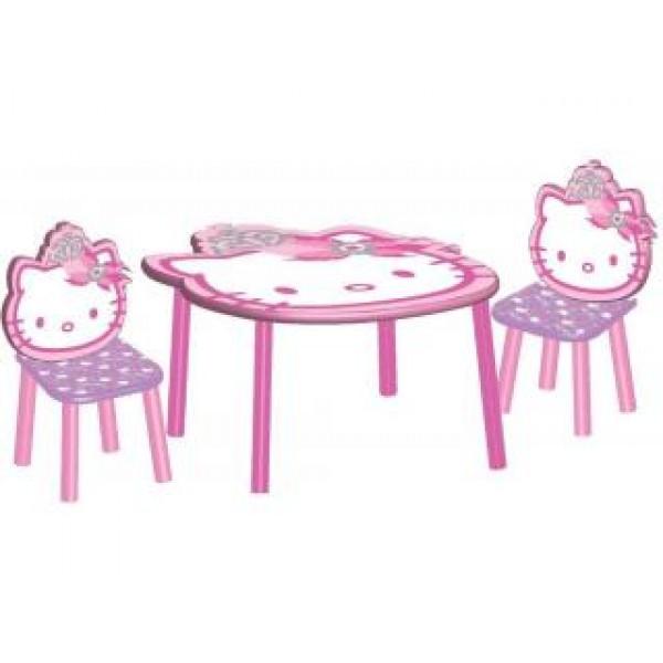 Hello Kitty Tafel met 2 Stoelen