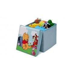 Winnie the Pooh TC85872WP  Canvas Speelgoed Opbergdoos 28cm