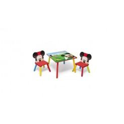 Disney Mickey Mouse TT89424MM Tafel met 2 Stoelen
