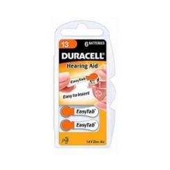 Duracell EASY TAB 13 Hoortoestel Knoopcel Batterij