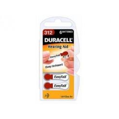 Duracell EASYTAB312 Batterijerij Voor Hoortoestel