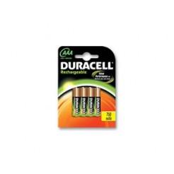 Duracell 5000394090231 Batterij Oplaadbaar Set Van 4xAAA