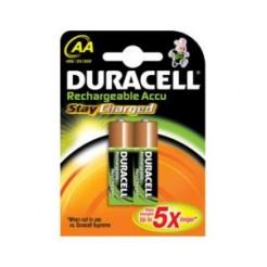 Duracell 2 Oplaadbare AA Batterijen NiMH Mignon 2100mAh