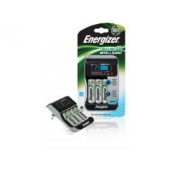 Energizer Enchgint01-eu Intelligent Lader, Euro Stekker, + 4x Hr6 2000 mah