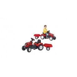 Falk Ranch Trac Tractor met Aanhanger 2-5