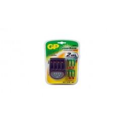 Gp Pb-h500/27 Batterijlader Inclusief 4x Ni-mh 2600 Mah Aa Batterijen