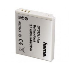 Hama 00077343 DP 343 Li-Ion Battery for Canon
