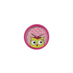 Hama 00123179 Kids Alarm Clock, Uil, Roze