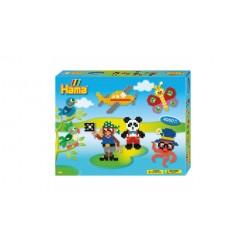Hama 3142 Strijkkralen Gift Box 4000stuks