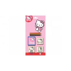 Hello Kitty Stempelset 5-delig
