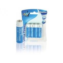 Hq Alk-aa-01 Batterij Alkaline 1.5 V 4-blister