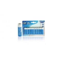 Hq Alk-aa-02 Batterij Alkaline 1.5 V 10-blister