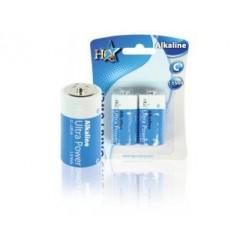 Hq Alk-c-01 Batterij Alkaline 1.5 V 2-blister