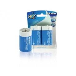 Hq Alk-d-01 Batterij Alkaline 1.5 V 2-blister