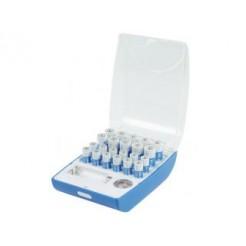 Hq Alk-box-01 Batterij Bewaardoos met Tester en 10 Aa & 12 Aaa Alkaline Batterijen