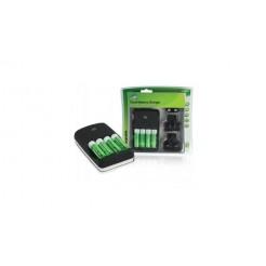 Hq Ch04-27 Batterij Reislader Inclusief 4 xaa 2700 Mah Batterijen