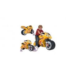 Injusa Motorbike Winner Loopmotor Geel