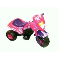 Injusa 6702 Elektrische Tribike Space Girl 6V