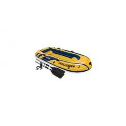 Intex 68370NP Challenger 3-Persoons Boot Set
