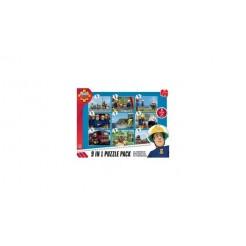 Brandweerman Sam 9in1 Puzzel