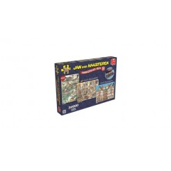 Jumbo Jan van Haasteren Jubileum Puzzel Box 3x1000 Stukjes